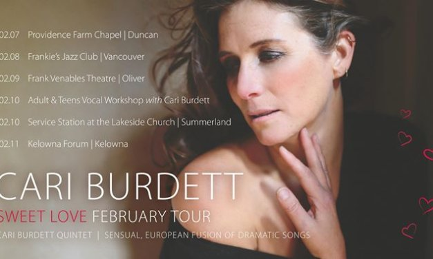 Jazz Cafe Kelowna Presents Cari Burdett