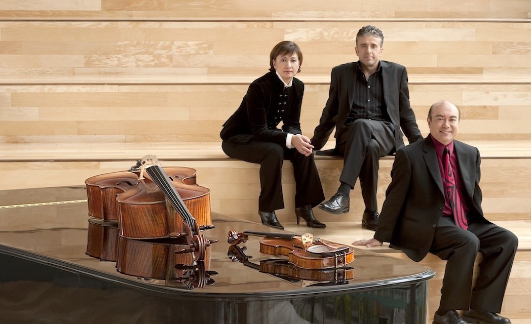 Gryphon Trio returns to Mary Irwin Theatre
