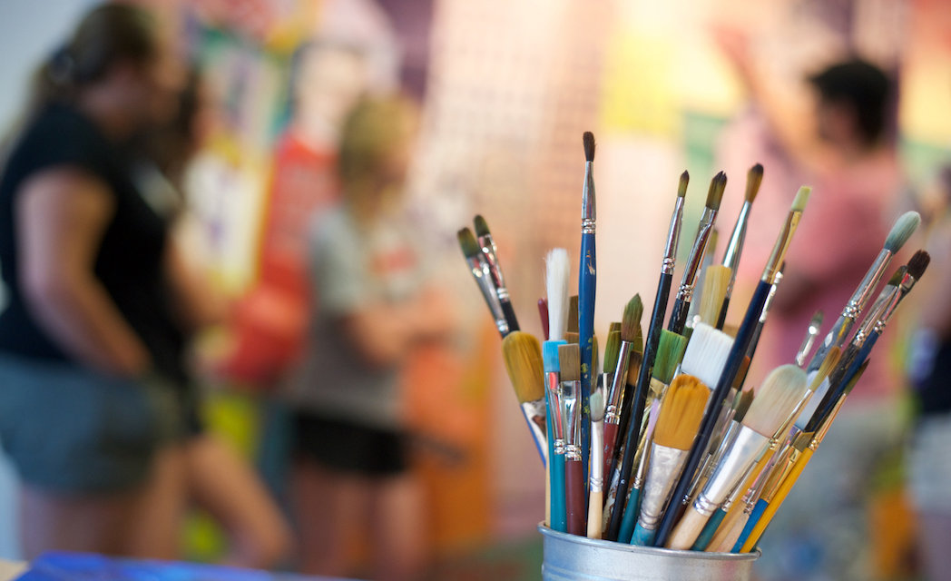 Kelowna art classes: Kickoff 2018 with a commitment to your creativity