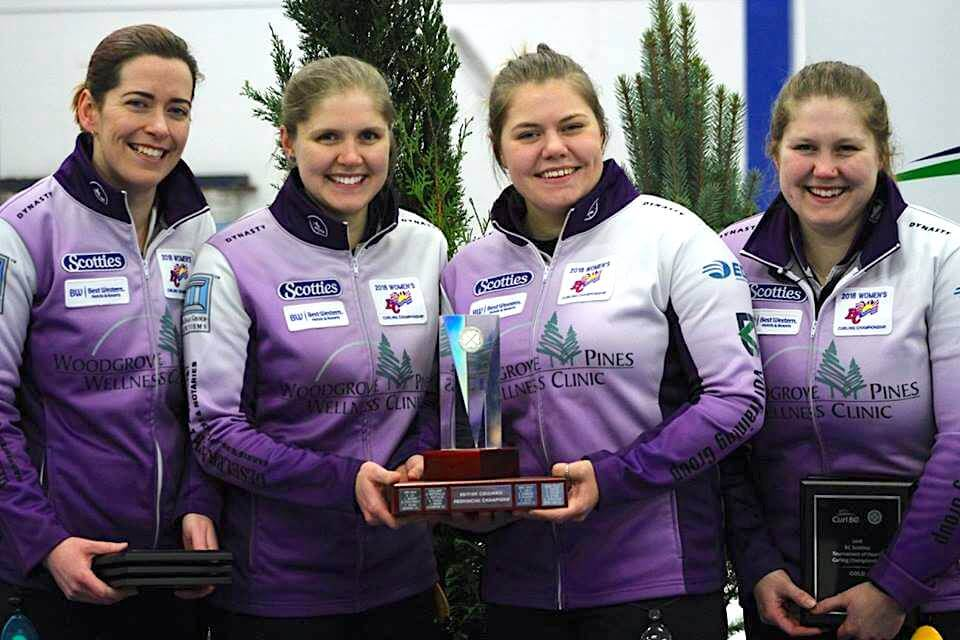 Van Osch sisters to represent BC at 2018 Scotties