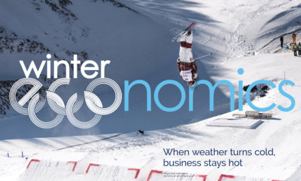 Winter economics: when the weather turns cold, business stays hot