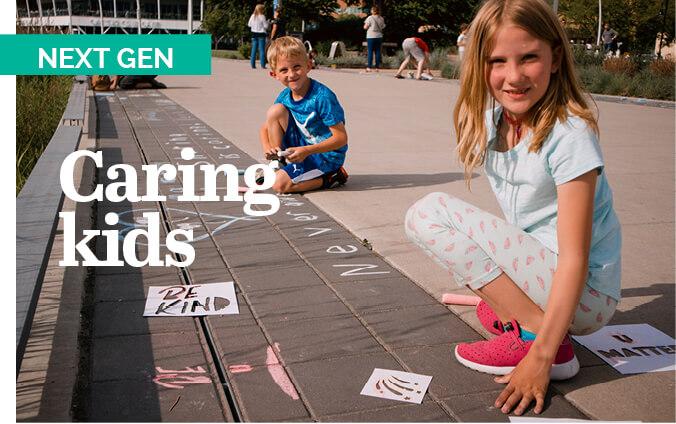 Next Gen: Caring kids
