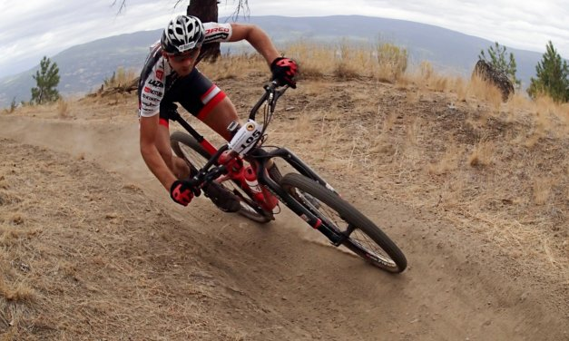 In person: Mountain bikers Shei and Nic Seaton