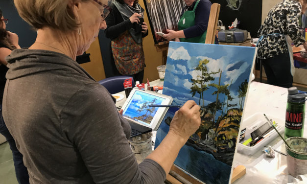 Sign up for painting, printmaking and more this fall