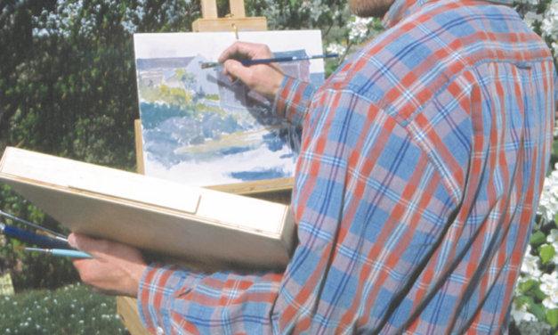 Roger D. Arndt: Artist in the orchard