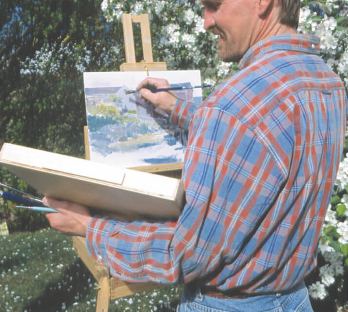 Roger D. Arndt: Artist in the orchard