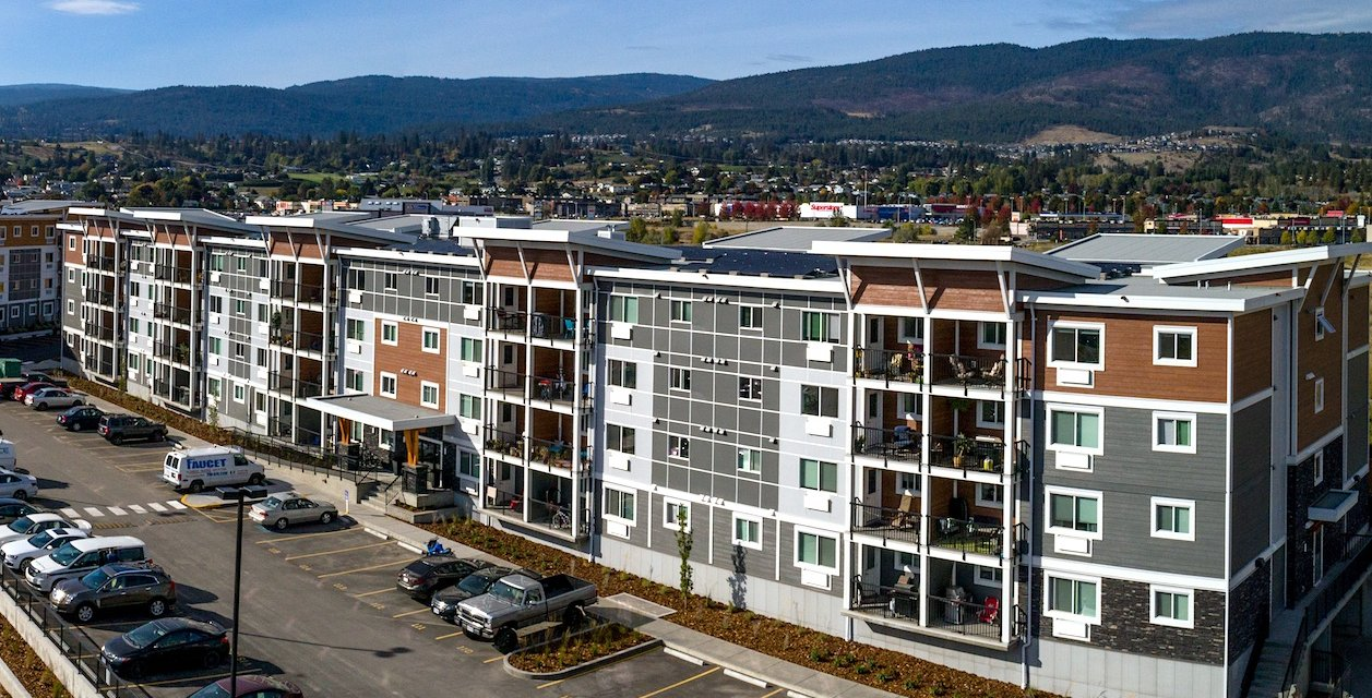 Built Green Canada sustainability projects in the Okanagan