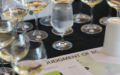 Wines of BC against the world in fourth annual judgement of BC