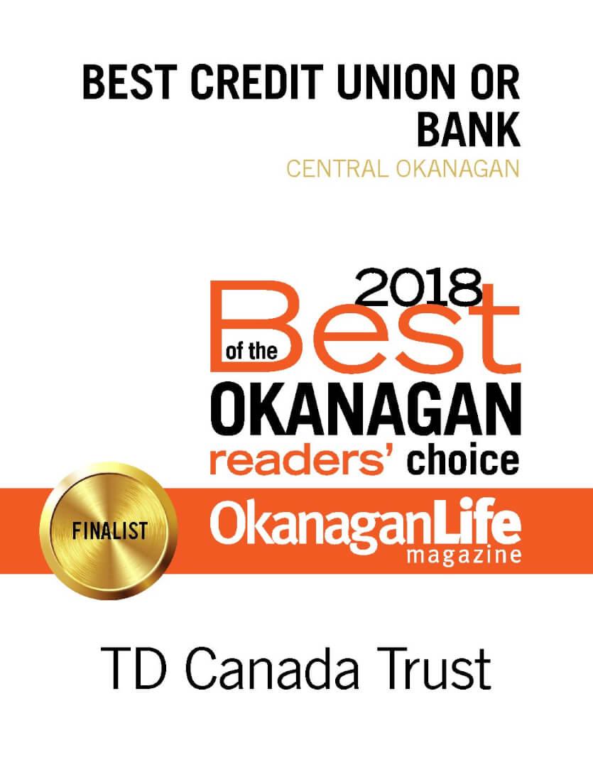 TD Canada Trust – Kelowna