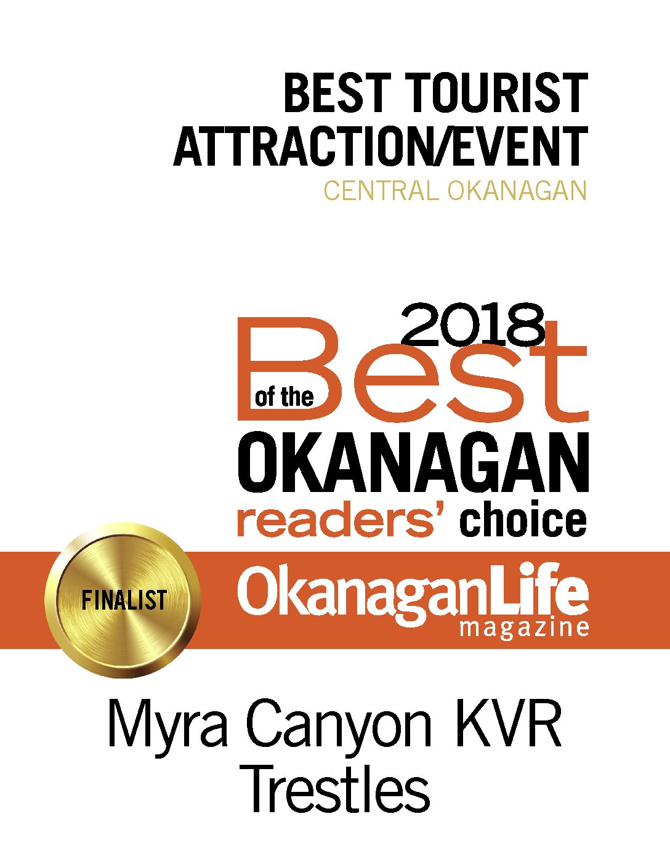 Myra Canyon KVR Trestles