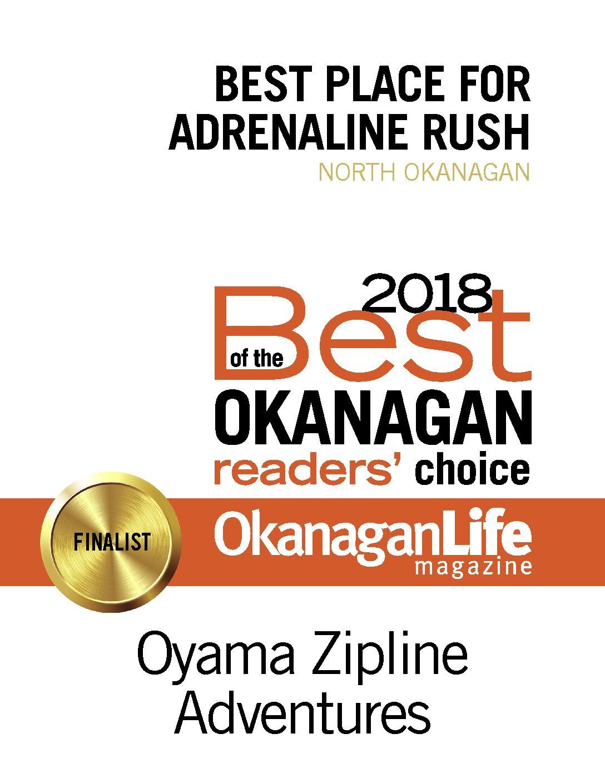 Oyama Zipline Adventures