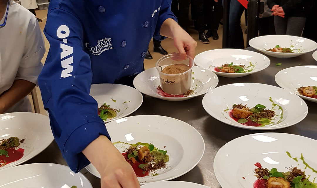 Culinary Championships support local groups