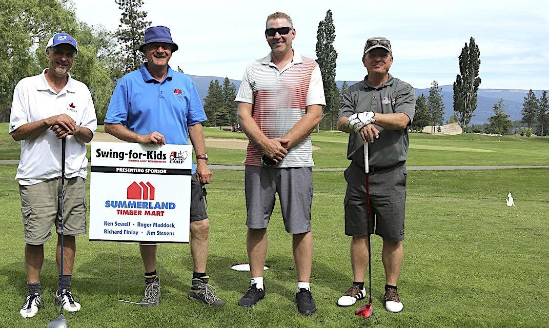 Spots still open for Swing for Kids golf tourney