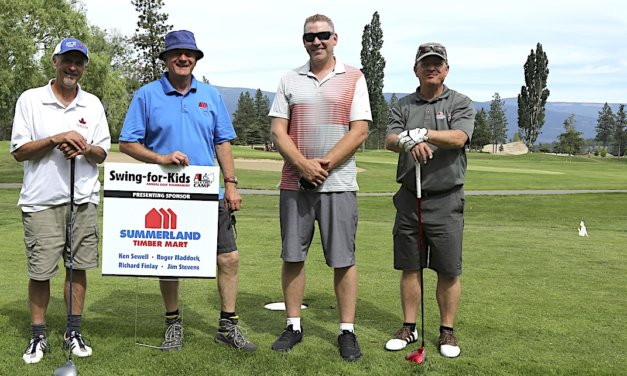 Spots still open for Swing for Kids golf tourney