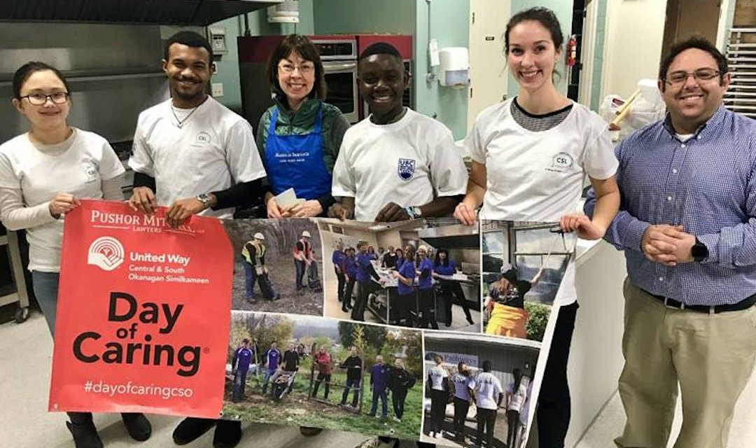 UBCO students give back during reading week