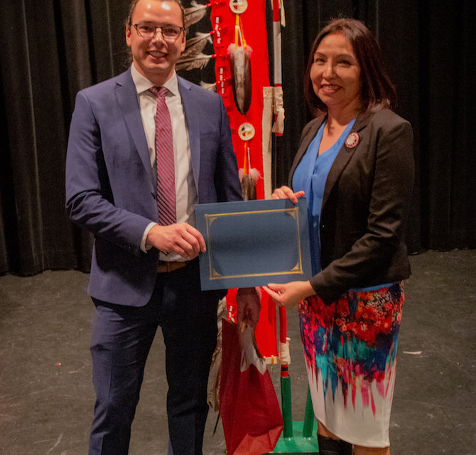 College celebrates a decade of recognizing Aboriginal students' achievements