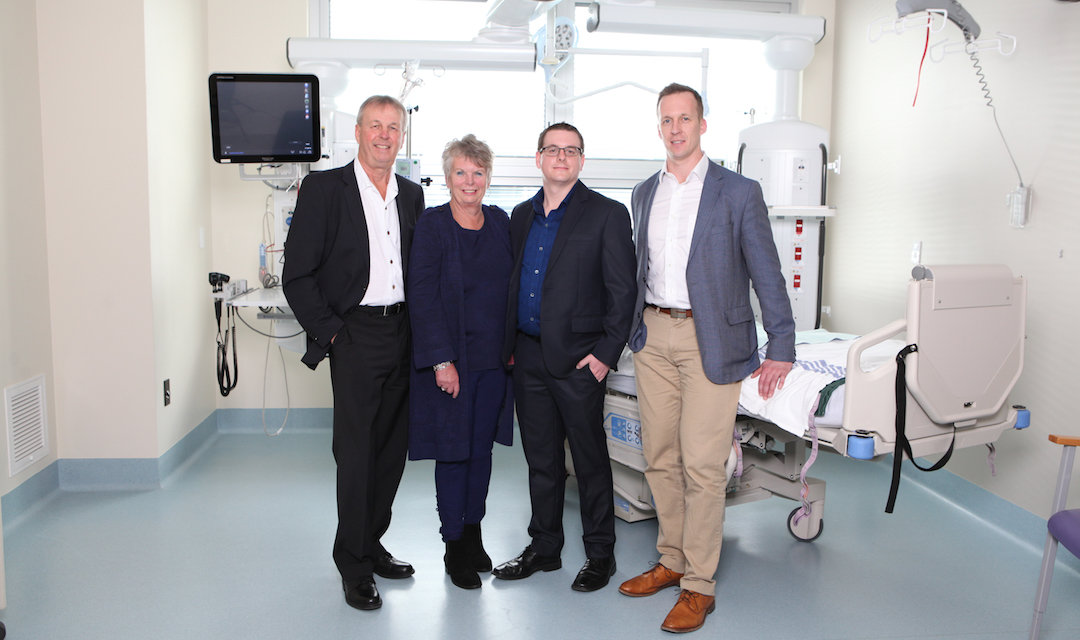 Local family will match all KGH cardiac care donations after personal experience