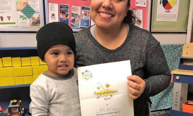 Central Okanagan Family Hub celebrated its 10,000th visit