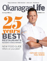 Paul Moran - Best Restaurants - Okanagan Life